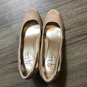 LIFE STRIDE | Women's Shoes | Beige Heels | 8.5M
